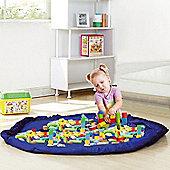 Large Portable Kids Play Mat Storage Bag Toys Lego Organizer Rug Box 150cm