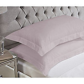 Julian Charles Luxury 180 Thread Count Oxford Pillowcases - Lilac