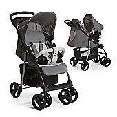 Hauck Shopper SND Travel System with Mosquito Net - Stone/Grey