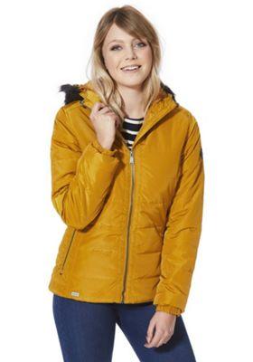 Regatta Wynne Shiny Quilted Jacket 20 Yellow