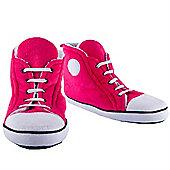 Pink Hi Top Slippers
