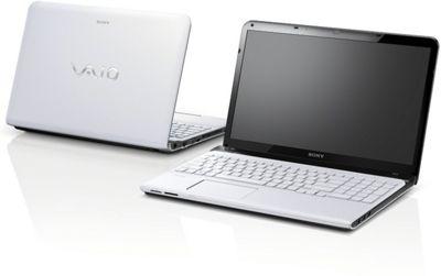 Sony Vaio SVE1513B1E (15.5 inch) Notebook Pentium (2020M) 2.40GHz 4GB 500GB DVD WLAN BT Windows 8 (HD Graphics) - White
