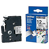 Brother TZe N231 Non-laminated tape Black on White 12mm