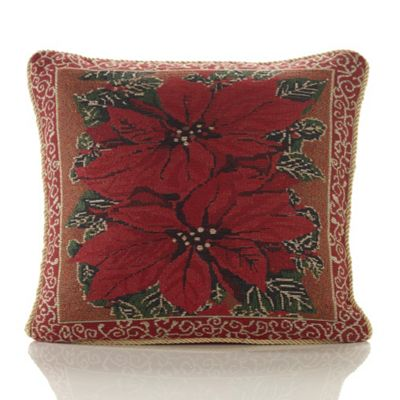 Christmas Festive Tapestry Cushion - 46x46cm