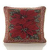 Christmas Festive Tapestry Cushion - 46x46cm