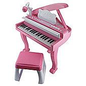 Carousel Grand Piano Pink