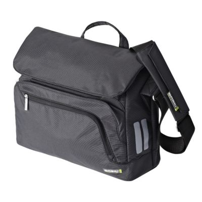 Basil Select Messenger/Laptop Bike Bag Dark Grey 16L