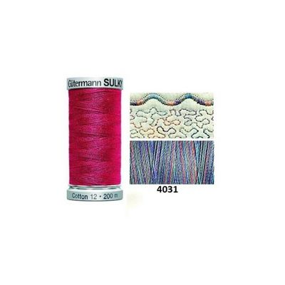 Gutermann Sulky Variegated Cotton 200m Country Colonial