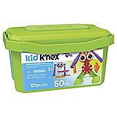 Kid K'NEX Budding Builders Building Set Preschool Educational Toy 100 Pcs 85618