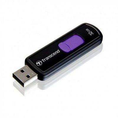 Transcend JetFlash 500 32GB Pen Drive Purple