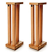 Hi Fi Racks Podium Slimline Speaker Stands 600mm Walnut