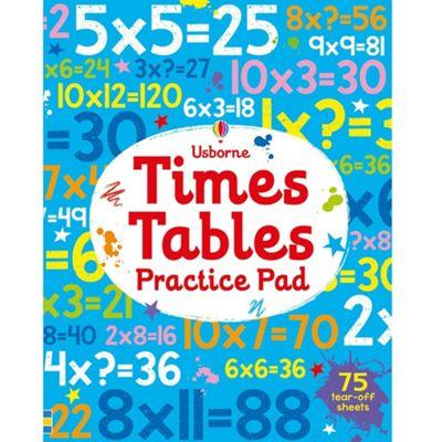 Usborne Times Tables Practice Pad