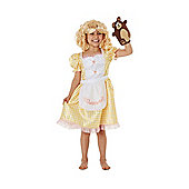 F&F Goldilocks Fancy Dress Costume - Yellow