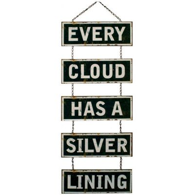 Alterton Furniture Every Cloud 5 Section Iron Plaque
