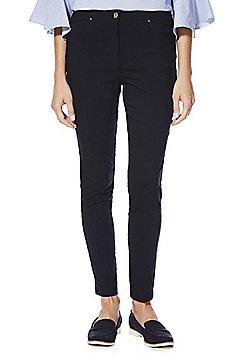 F&F Bengaline Skinny Trousers - Navy