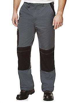 Rhino Workwear Woven Trousers - Grey