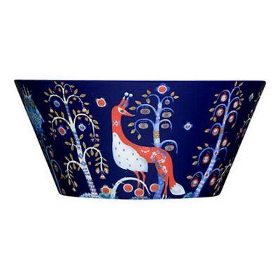 Iittala Taika Porcelain Dessert Bowl in Blue