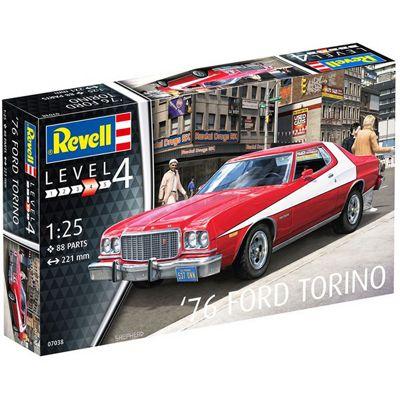 REVELL 76' Ford Torino 1:25 Model Car Kit - 07038