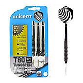 Unicorn Core XL T80 80% Tungsten Darts With Slimline Case 24g
