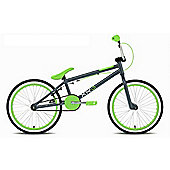 "Rooster XR6 Kids 20"" Wheel Freestyle BMX Bike Gyro Grey/Green"