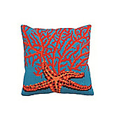 Collection D Art Red Starfish Cushion Kit