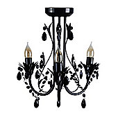 Odelia 3 Way Semi Flush Chandelier