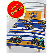 JCB 4 in 1 Junior Bedding Bundle