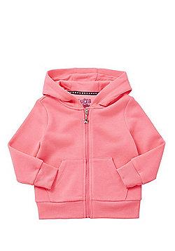 F&F Zip-Through Hoodie - Neon pink