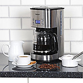 Igenix IG8250 800W 1.5 Litre Digital Filter Coffee Maker - Brushed Stainless Steel