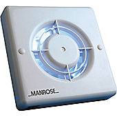 Manrose 100mm Axial Extractor Fan with Pullcord Switch