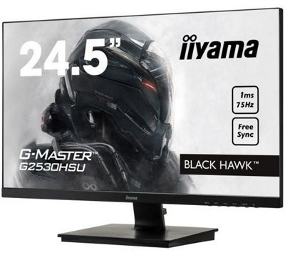 iiyama Black Hawk G-MASTER G2530HSU-B1 24.5 FreeSync 75Hz Gaming Monitor