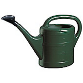 5L Dark Green Plastic Garden Watering Can with Rose