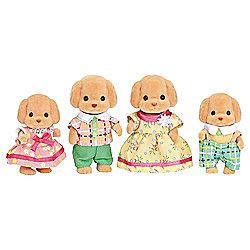 Sylvanian Families Toy Poodle Family