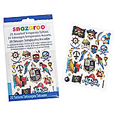 Snazaroo Boys Tattoos 20pk