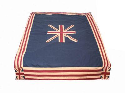 Woven Magic Union Jack Patriotic Duck Table Cloth - Large