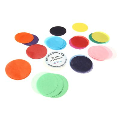 Tissue Circles 75mm (3 Inch)