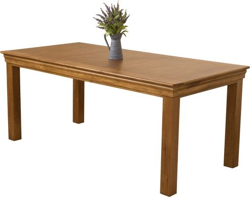 French Chateau Rustic Solid Oak 180 cm Dining Table