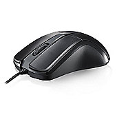 Rapoo N1162 Wired Optical Mouse (Black)