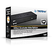 Trendnet TK-V401S VGA video splitter 4-Port Stackable