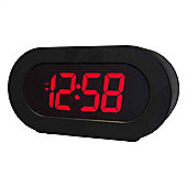 Acctim 15233X Colorado Red LED Alarm Clock with Smart Connector®