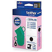 Brother LC227XL High Yield Ink Cartridge (Black) 1,200 Page Yield