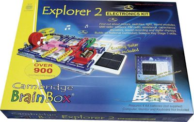 Cambridge Brainbox Explorer 2 Electronics Kit 11-14 Years