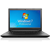"Lenovo B50 15.6"" Intel Core i3 4GB RAM 500GB 8GB Hybrid SSHD Cache Windows 7 Pro Laptop Black"