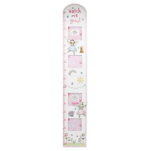 Tess the Fairy Princess Photo Frame Height Chart.