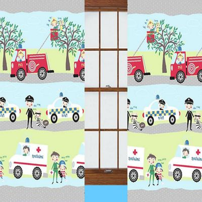 Emergency Vehicle Curtains 54s