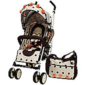 iSafe Special Edition Stroller (Full of Flowers)