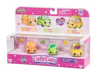 Shopkins Cutie Cars 3 Pack - Fast n Fruity