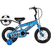 "Bumper Goal 14"" Pavement Bike Blue"