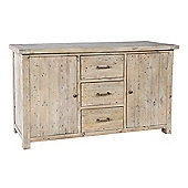 Siena Reclaimed Pine 2 Door 3 Drawer Large Sideboard