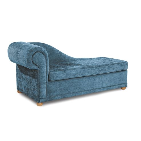 Highgrove Chaise Longue Sofabed teal